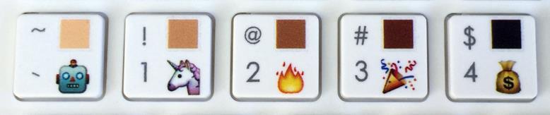 emoji keys